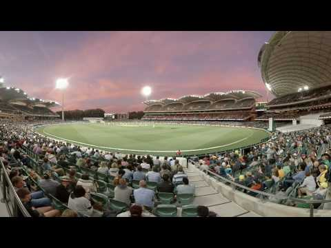 360: Sun goes down on glorious Adelaide Oval
