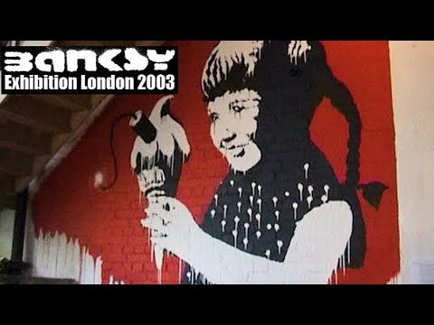 Banksy Exhibition - Dalston East London 2003