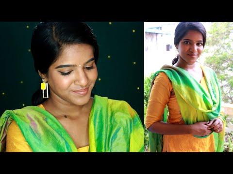 Wearable Diwali Look For Chudidhar🥰THURSDAY'S TAMIL TUTORIAL💛2019DiwaliMakeup