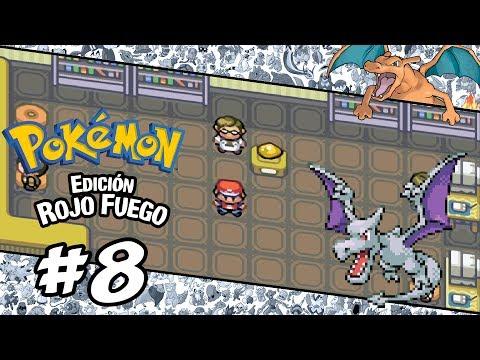 """Guía Pokémon Rojo Fuego # 8 ( Rutas 2 , 9 y 10 """" MO.Destello , Fósil Ámbar y Bicicleta """" )"""