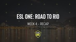 Domination in Europe and CIS - ESL One Road to Rio Week 4 Recap
