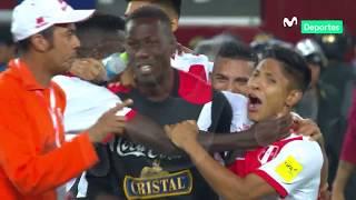 Perú 1 - 1 Colombia: Así fue el momento exacto de la clasificación al repechaje