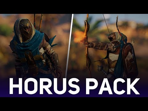 Assassin's Creed Origins - Horus Pack (Brief Overview & Gameplay Showcase)
