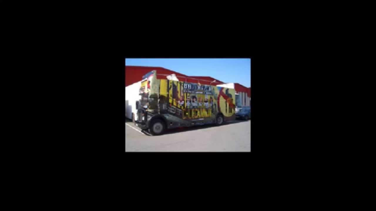 Expobuses publicitarios - Chueca Town ( Ipm3000 Vehiculos Publicitarios )