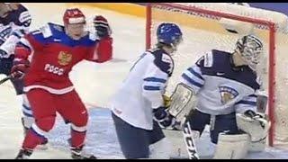 Россия - Финляндия - (3-4) 05.01.2016 Хоккей Обзор матча