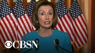 """Pelosi says the most important parts of coronavirus bill are """"testing, testing, testing"""""""
