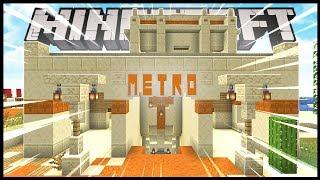 Transformei Meu Estabulo Em Um Metro No Minecraft!! - Minecraft Irmandade #16