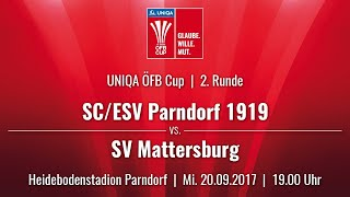 Parndorf vs SV Mattersburg full match