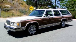 1990 Mercury Grand Marquis Colony Park 1 Owner LS Break Station Wagon Estate