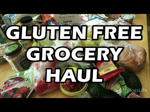 GLUTEN FREE GROCERY Shopping Haul for Kids and Adults |  Gluten Allergy Eczema