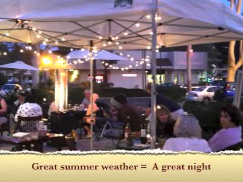 Evening of Art at Fresh Grill Bistro, Oceanside, California