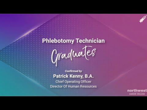 Northwest Career College - Phlebotomy Technician Graduates April 2021