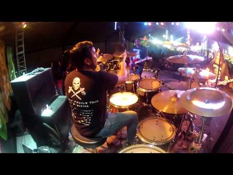 Iron Maiden - Hallowed be thy name (up the irons) drum cam