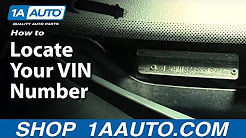 How to Find Locate Your VIN Number