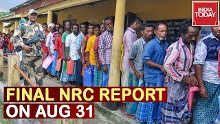 SC to Release Final NRC List On August 31, Million Fears Statelessness