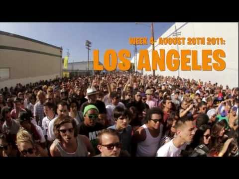 Mad Decent Block Party 2011- Los Angeles [Music Video]