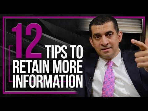 How to Retain More Information