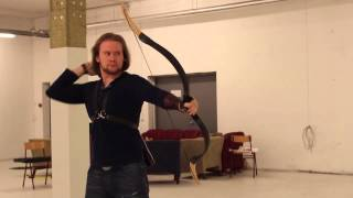 Archery practice speed shooting