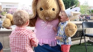 MEETING THE EASTER BUNNY IN REAL LIFE!