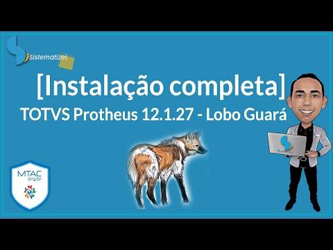 Instalação completa TOTVS