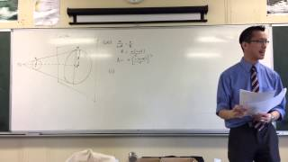 Exam Problem: The Coin Shadow