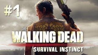 The Walking Dead: Survival Instinct Gameplay #1 - Let