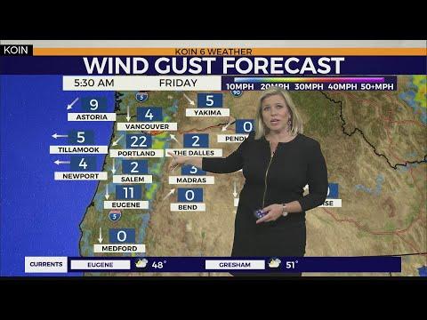 WEATHER FORECAST: Dry Halloween, Freezing Tomorrow Morning, Easterly Wind Returns
