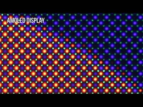 Samsung S7 AMOLED vs IPS LCD Display Magnified Over 50x 😮