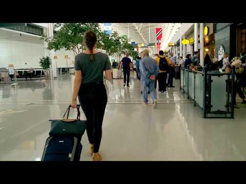 Washington Dulles International Airport Short Walking Tour :: Virginia USA