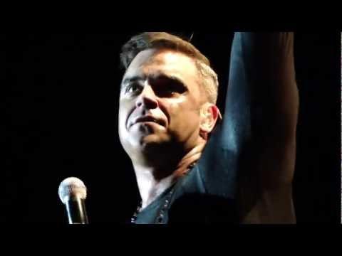 Robbie Williams - Road to Mandalay / Eternity (live), Dublin
