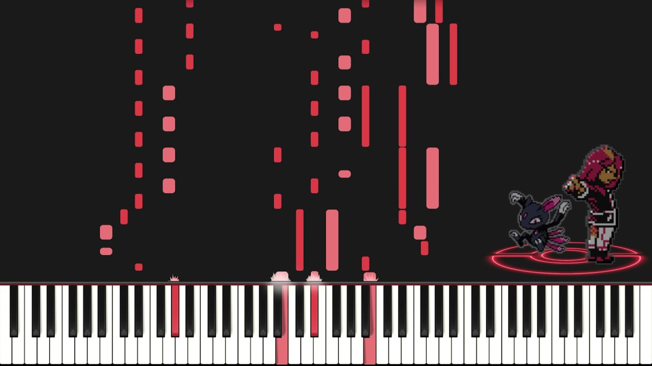 【Pokemon Gold & Silver】戦闘!ライバル (Battle! Rival) Piano Cover