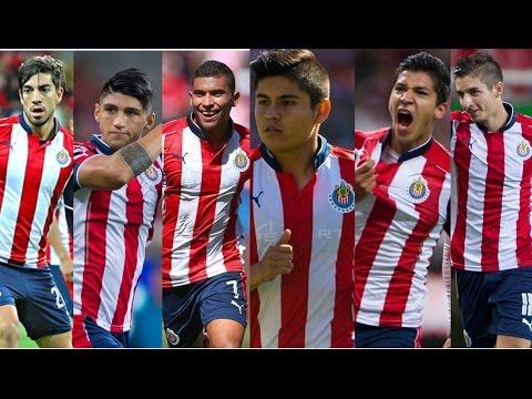 CHIVAS ● Pizarro, Pineda, Pulido, Zaldívar, Brizuela , Chofis ● Mejores Goles y Jugadas 16/17
