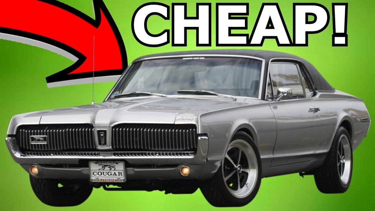 Cars For Sale Under 10000 >> Vintage Cars For Under 10k