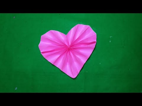 Origami heart#How to make origami paper heart step by step#paperCraft