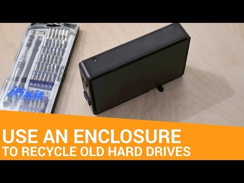 Save Money on External Drives by Buying an Enclosure Separately