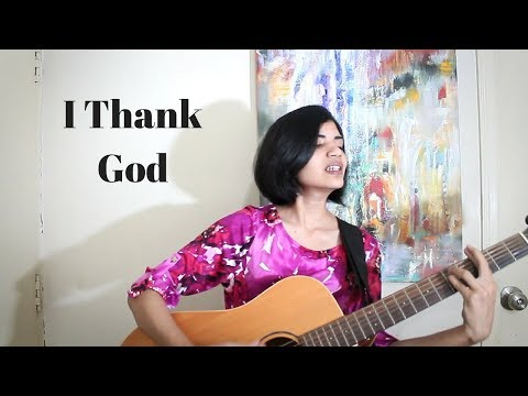 I Thank God - Rhema Marvanne (Live Acoustic Cover)