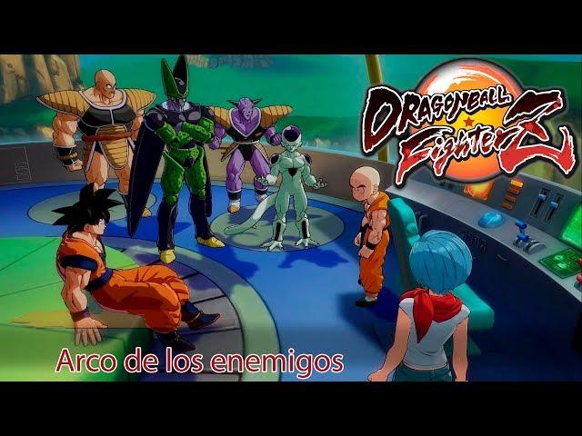 Dragon Ball FighterZ Arco de los enemigos Película Completa Subtitulada
