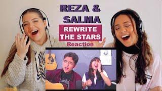 Download Mp3 Reza Darmawangsa Salma Rewrite The Stars COVER REACTION