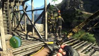 Far Cry 3 - Gameplay 15 : Tirolesando até a lista do Capitão Pirata + Signature Weapons