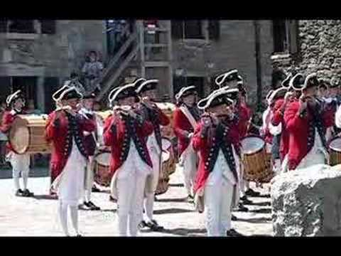 Fifes and Drums of York Town at Fort Ticonderoga