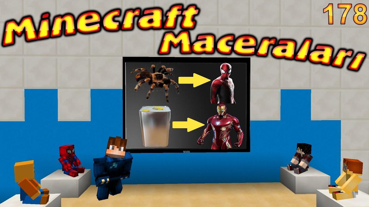 ABUZİ SÜPER KAHRAMAN OKULU AÇTI - Minecraft Maceraları 178. Bölüm