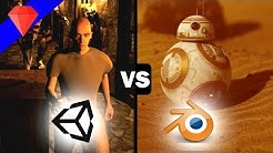 Unity vs Blender | Graphics, Game Engine Comparison