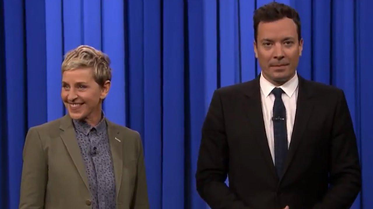 Jimmy Kimmel vs ellen