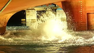 Ship Propeller in motion 3