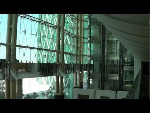 "Dubai, UAE, ""The Meydan Hotel & Racecourses"", (HD)"