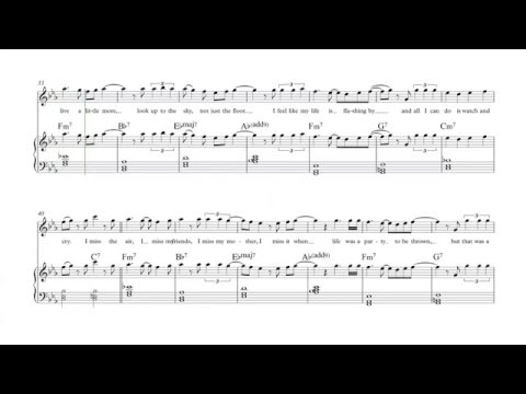 Easy Piano - Million Years Ago - Adele Sheet Music, Chords, and Vocals