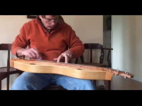 Cherry and Spruce Dulcimer