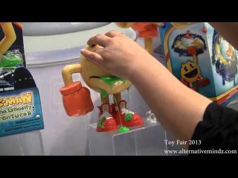 Toy Fair 2013: Bandai's Pac Man Walk Through