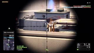 Battlefield Hardline Beta Gameplay #4 (PS4, BFH Kills, Sniping, Zipline kills, Gas Tank Kills)