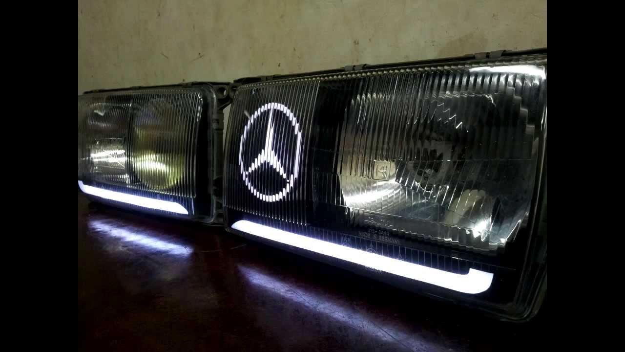 Mercedes E200 Headlights 1 Youtube